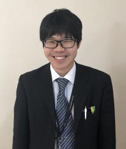 営業 2018年10月入社 石原社員